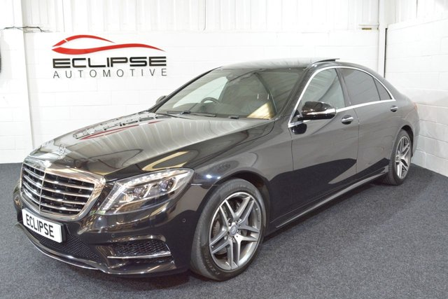 2015 15 MERCEDES-BENZ S CLASS 3.0 S350 BLUETEC L AMG LINE EXECUTIVE 4d AUTO 258 BHP