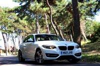 2017 BMW 2 SERIES 1.5 218I SPORT 2d 134 BHP £16995.00