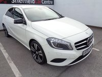 USED 2013 63 MERCEDES-BENZ A CLASS 1.5 A180 CDI BLUEEFFICIENCY SPORT 5d 109 BHP £204 A MONTH HALF LEATHER BLUETOOTH POLISHED ALLOYS CRUISE CONTROL  PRIVACY GLASS  CLIMATE CONTROL FULL SERVICE HISTORY