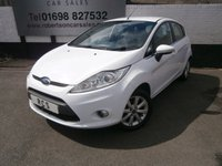 USED 2011 11 FORD FIESTA 1.2 ZETEC 5dr