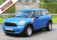 USED 2011 11 MINI COUNTRYMAN 1.6 ONE 5d 98 BHP Finance from only £35 p/w!