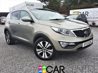 USED 2013 13 KIA SPORTAGE 1.7 CRDI 3 5d 114 BHP FULLY LOADED +1 OWNER