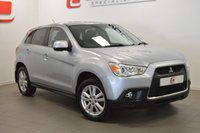 USED 2012 12 MITSUBISHI ASX 1.6 4 5d [NAV] 115 BHP LEATHER + FSH + 2 KEYS + SAT NAV