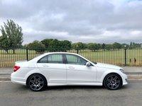 2013 MERCEDES-BENZ C CLASS 2.1 C220 CDI BLUEEFFICIENCY AMG SPORT PLUS 4d AUTO 168 BHP £10995.00