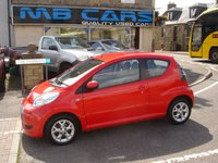 USED 2012 12 CITROEN C1 1.0 VTR PLUS 3d 68 BHP ONLY £20 A YEAR ROAD TAX AND 44000 MILES FROM NEW