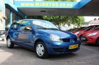 USED 2008 58 RENAULT CLIO 1.2 CAMPUS 8v 3dr 58 BHP **PART EX TO CLEAR**IDEAL 1st CAR**JUST SERVICED**