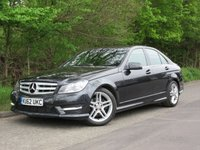 2012 MERCEDES-BENZ C CLASS 2.1 C220 CDI BLUEEFFICIENCY AMG SPORT 4d 168 BHP £11450.00