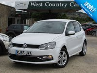 USED 2016 66 VOLKSWAGEN POLO 1.2 MATCH TSI 5d 89 BHP High Quality Small Hatchback