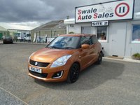 USED 2016 16 SUZUKI SWIFT 1.2 SZ-L 94 BHP £38 PER WEEK, NO DEPOSIT - SEE FINANCE LINK