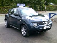 USED 2011 11 NISSAN JUKE 1.6 VISIA 5d 117 BHP FINANCE AVAILABLE EVEN IF YOU HAVE POOR CREDIT.