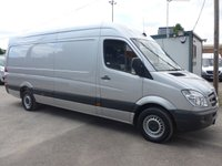 2013 MERCEDES-BENZ SPRINTER 313 CDI LWB, 130 BHP [EURO 5], 1 COMPANY OWNER, ACCESS RAMP WITH WINCH