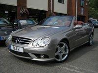 USED 2005 55 MERCEDES-BENZ CLK 3.5 CLK350 SPORT 2d AUTO 269 BHP
