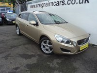 USED 2010 60 VOLVO V60 2.0 D3 SE LUX 5d AUTO 161 BHP Dealer Then One Local Owner Full Service History,Massive Spec Car