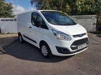 USED 2016 65 FORD TRANSIT CUSTOM 290 2.2 TREND L1 H1 100  BHP **70 VANS IN STOCK**