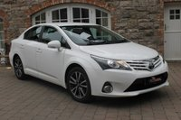 2014 TOYOTA AVENSIS 2.0 D-4D ICON 4d 124 BHP £8650.00