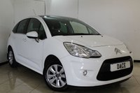 USED 2011 11 CITROEN C3 1.4 VTR PLUS HDI 5DR 68 BHP SERVICE HISTORY + CRUISE CONTROL + AIR CONDITIONING + RADIO/CD + ELECTRIC WINDOWS + 15 INCH ALLOY WHEELS