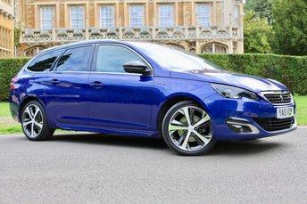 2015 PEUGEOT 308 2.0 BLUE HDI S/S SW GT LINE 5d AUTO 150 BHP £11250.00