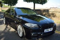 USED 2010 60 BMW 5 SERIES 2.0 520D M SPORT STYLING 4d AUTO SE 181 BHP SERVICE HISTORY, SAT NAV, SPORTS LEATHER, REAR PRIVACY GLASS, BIG ALLOYS