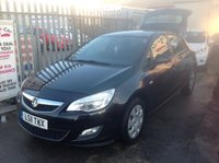 USED 2011 11 VAUXHALL ASTRA 1.7 EXCLUSIV CDTI 5d 108 BHP Great diesel family hatchback, low tax, economical.
