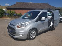 2015 FORD TRANSIT CONNECT 200 LIMITED 115BHP WITH 3 SEATS & ONLY 28,000 MILES £10295.00