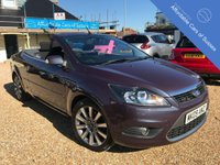 USED 2009 09 FORD FOCUS 2.0 CC2 2d 144 BHP Low Mileage Convertible in stunning condition