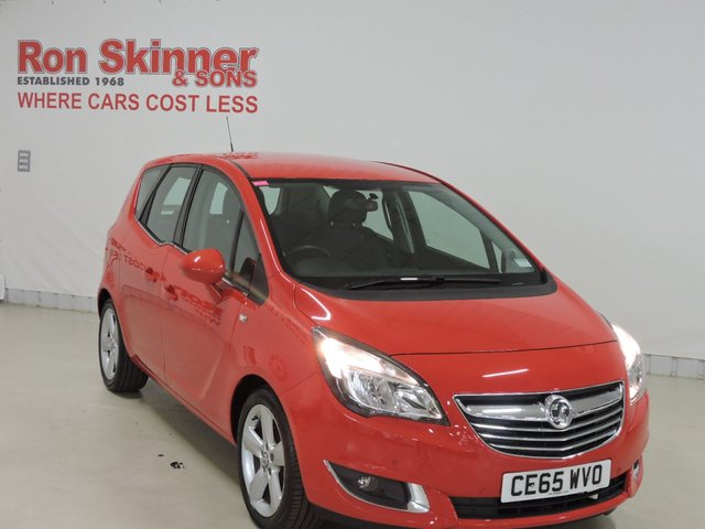 View our 2015 65 VAUXHALL MERIVA (50)    1.4 TECH LINE 5d 99 BHP