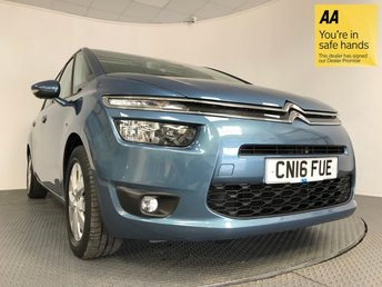 2016 CITROEN C4 GRAND PICASSO 1.6 BLUEHDI VTR PLUS 5d AUTO 118 BHP £13895.00