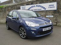 2015 CITROEN C3 1.2 SELECTION 5d 80 BHP £6995.00
