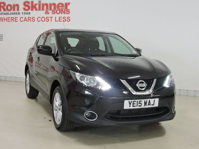 View our 2015 15 NISSAN QASHQAI 1.2 ACENTA DIG-T 5d 113 BHP