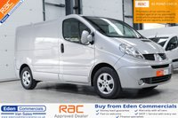 2014 RENAULT TRAFIC 2.0 SL27 SPORT DCI S/R P/V 115 BHP *FINISHED IN MERCURY SILVER* £8995.00