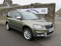 USED 2015 15 SKODA YETI 1.6 OUTDOOR ELEGANCE GREENLINE II TDI CR 5d 103 BHP