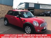 2011 MINI HATCH ONE 1.6 ONE 3d 98 BHP 2 keys alloy wheels great finance options  £5695.00
