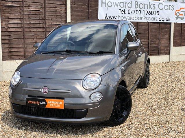 2012 12 FIAT 500 0.9 TWINAIR PLUS 3dr 85 BHP