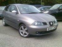 2005 SEAT IBIZA 1.9 FR TDI 5d 129 BHP £2495.00