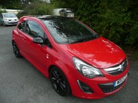 2013 VAUXHALL CORSA 1.2 LIMITED EDITION 3d 83 BHP £6295.00