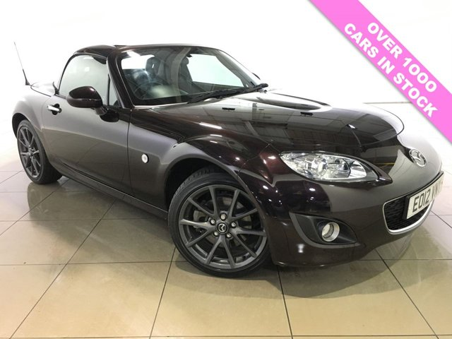 View our 2012 12 MAZDA MX-5 2.0 I ROADSTER VENTURE EDITION 2d 158 BHP