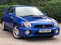 2001 SUBARU IMPREZA 2.0 WRX TURBO AWD 4d 218 BHP £2000.00