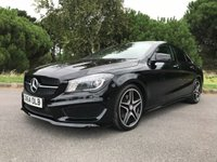 USED 2015 64 MERCEDES-BENZ CLA 2.1 CLA220 CDI AMG SPORT 4d AUTO 170 BHP ONE OWNER FSH AUTO AMG SPORT SAT NAV HEATED SEATS REVERSING CAMERA