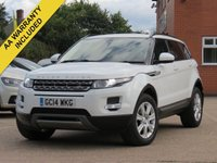 2014 LAND ROVER RANGE ROVER EVOQUE 2.2 SD4 PURE TECH 5d AUTO 190 BHP £19995.00