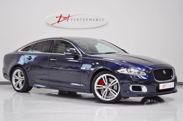 2014 63 JAGUAR XJ 5.0 XJR 4d AUTO 542 BHP SUPERSPORT HUGE SPECIFICATION