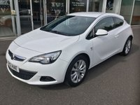 USED 2012 12 VAUXHALL ASTRA 1.4 GTC SRI S/S 3DR HATCHBACK 118 BHP