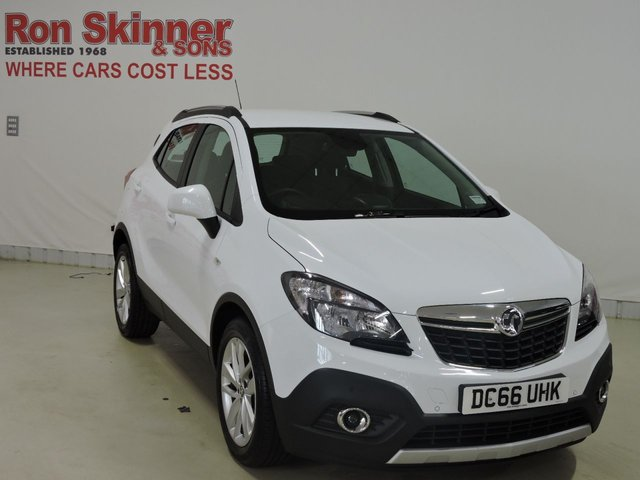View our 2017 66 VAUXHALL MOKKA    1.6 TECH LINE S/S 5d 114 BHP