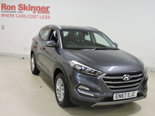 View our 2017 67 HYUNDAI TUCSON 1.6 GDI SE BLUE DRIVE 5d 130 BHP