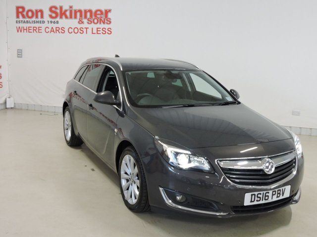 View our 2016 16 VAUXHALL INSIGNIA 2.0 ELITE NAV CDTI 5d AUTO 168 BHP