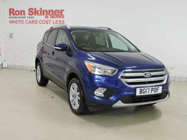 View our 2017 17 FORD KUGA (16) 1.5 ZETEC TDCI 5d 118 BHP with Sat Nav + Appearance Pack + Parking Sensors
