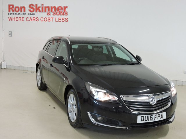 View our 2016 16 VAUXHALL INSIGNIA 1.6 SRI NAV CDTI 5d 134 BHP with rear/front parking sensors