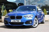 2016 BMW 1 SERIES 1.5 116D M SPORT 3d 114 BHP £15555.00