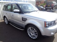 USED 2011 LAND ROVER RANGE ROVER SPORT 3.0 SDV6 HSE 5d AUTO 255 BHP