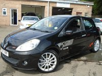 USED 2007 57 RENAULT CLIO 2.0 RENAULTSPORT 197 3d 195 BHP 3 FORMER KEEPER+MOT AUG 2019