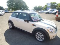 2009 MINI HATCH ONE 1.4 ONE 3d 94 BHP £4450.00